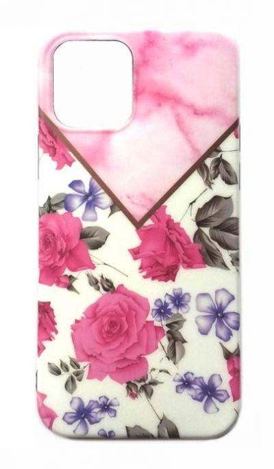Чехол - накладка для iPhone 12 Pro Max силикон Rose Pink
