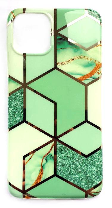 Чехол - накладка для iPhone 11 Pro Max силикон Marble №3