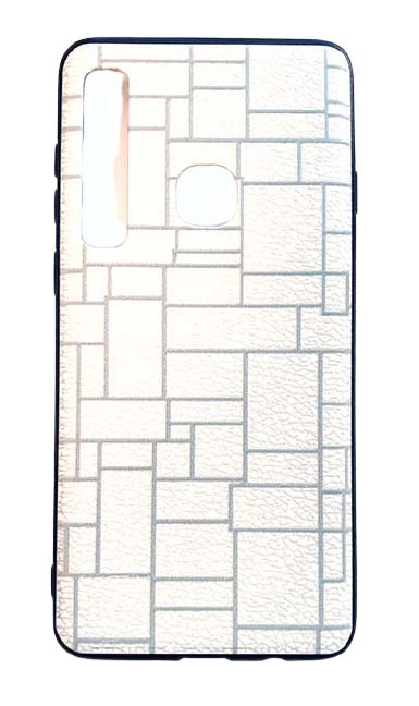 Чехол - накладка для Samsung A9 пластик Brick White