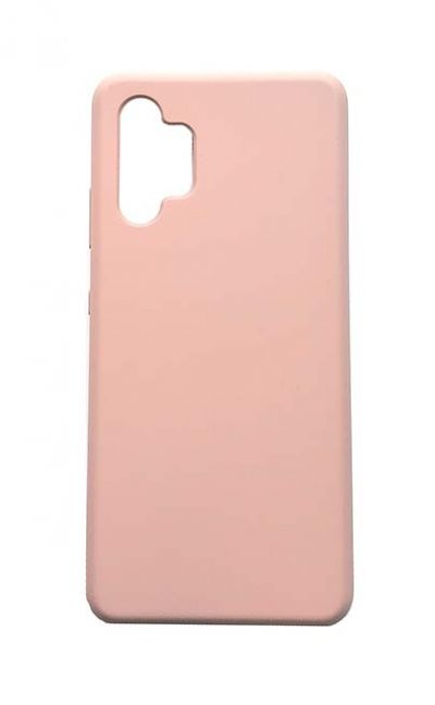 Чехол - накладка для Samsung A32 Silicone Cover Sand Pink