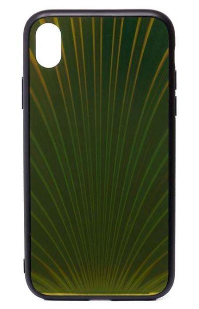 Чехол - накладка для iPhone XR силикон Protective Glass Shines Yellow
