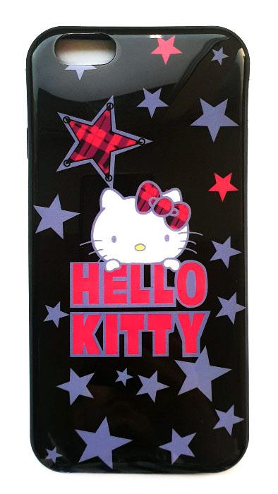 Чехол - накладка для iPhone 6 / 6S силикон Hello Kitty