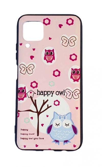 Чехол - накладка для Huawei P40 Lite силикон Happy Owl