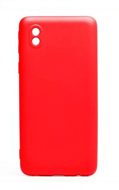 Чехол - накладка для Samsung A01 Core силикон Activ Full Red