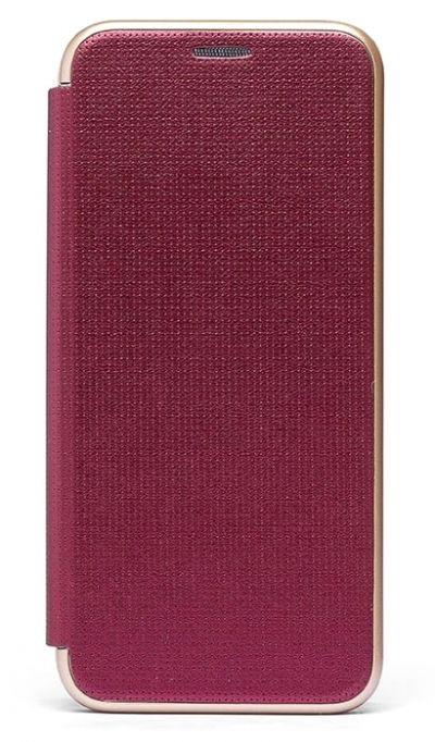 Чехол - книжка для Honor View 20 пластик Brera Like Burbon