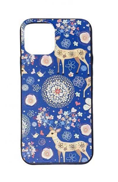 Чехол - накладка для iPhone 12 mini силикон Fabulous Deer