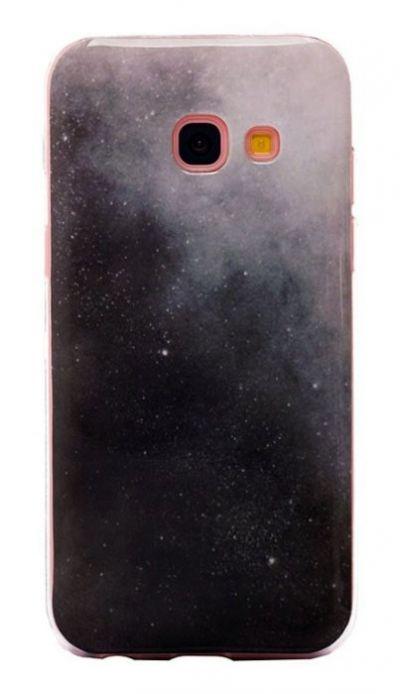 Чехол - накладка для Samsung A3 (2017) силикон Starry sky