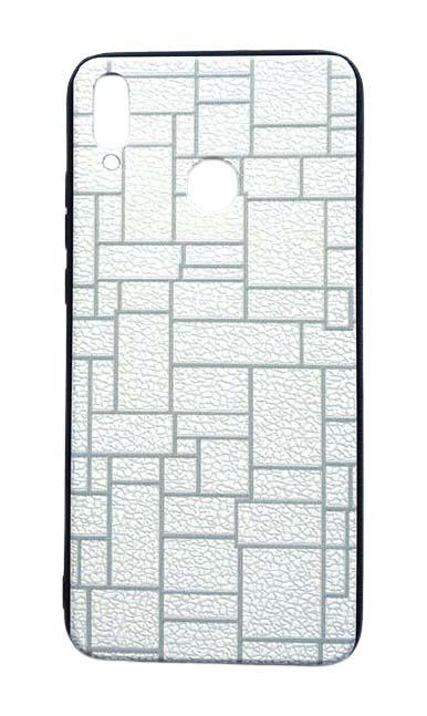 Чехол - накладка для Honor 8X пластик Brick White