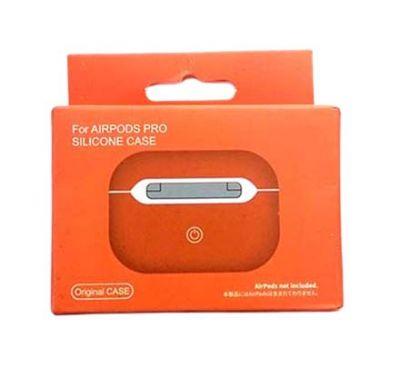 Чехол для AirPods Pro Silicone Case Orange