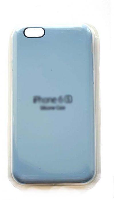Чехол - накладка для iPhone 6 / 6S Silicone Case Sky Blue