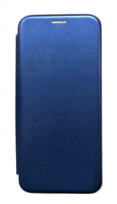 Чехол - книжка для Xiaomi Mi A3 полиуретан Fashion Case Blue