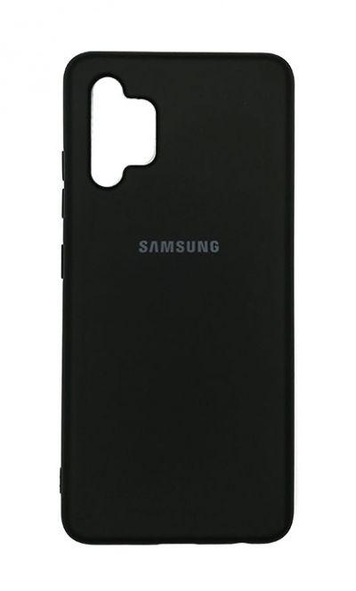 Чехол - накладка для Samsung A32 силикон Black org