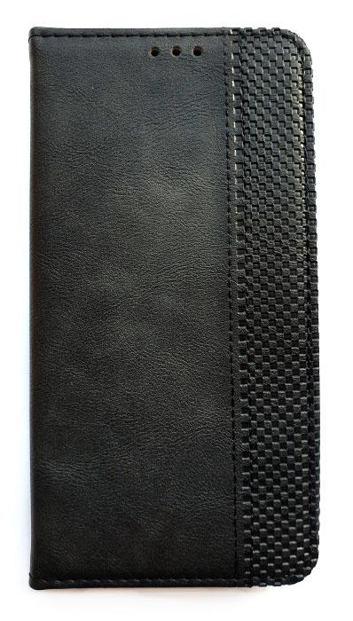Чехол - книжка для Samsung M31s полиуретан Stitched Black
