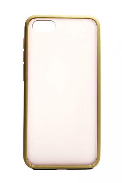 Чехол - накладка для Honor 7A / Huawei Y5 (2018) пластик Matt TPU Green