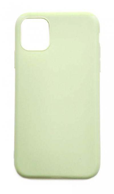 Чехол - накладка для iPhone 11 силикон Olive