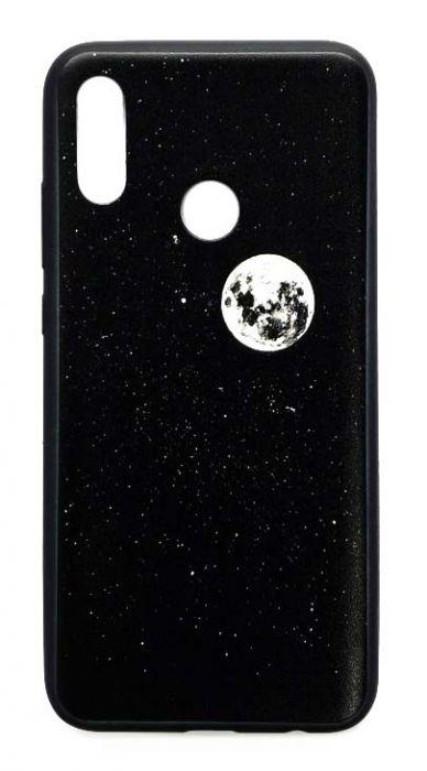 Чехол - накладка для Honor 10 Lite силикон Moon