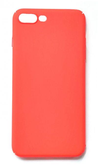 Чехол - накладка для iPhone 7 / 8 Plus пластик Soft Red