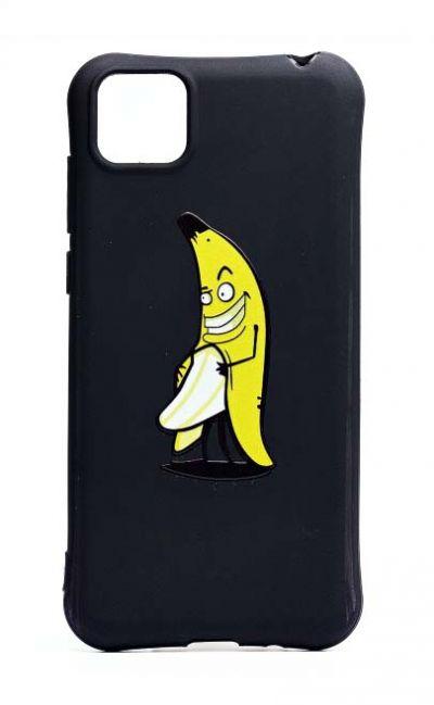Чехол - накладка для Honor 9S / Huawei Y5P силикон Crazy Banan