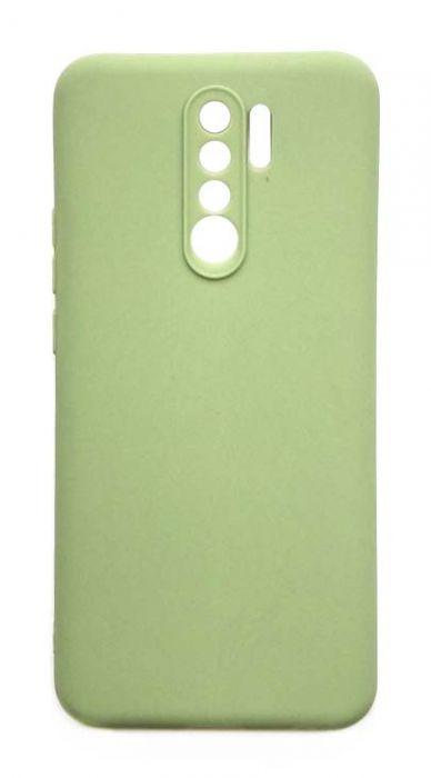 Чехол - накладка для Xiaomi Redmi 9 силикон Olive