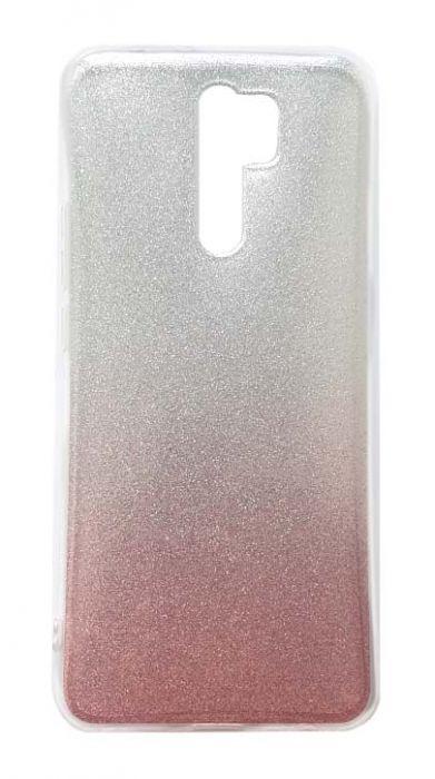 Чехол - накладка для Xiaomi Redmi 9 силикон Glamour Pink