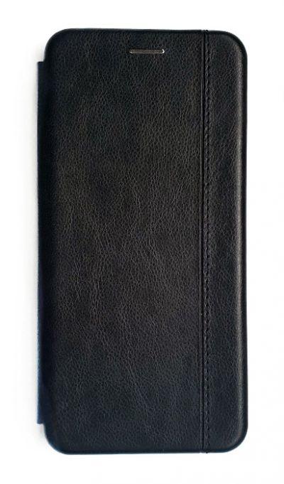 Чехол - книжка для Honor 10X Lite / Huawei P Smart 2021 полиуретан Fashion Case Black